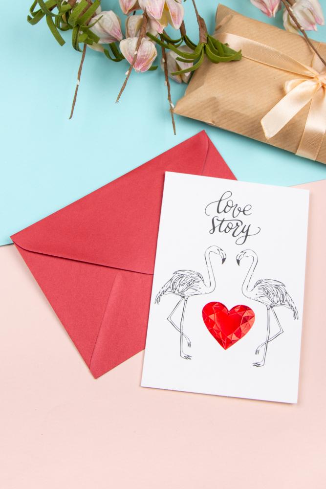История любви открытка, днем